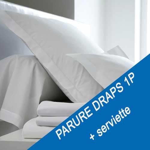 Location drap 1 personne avec serviette